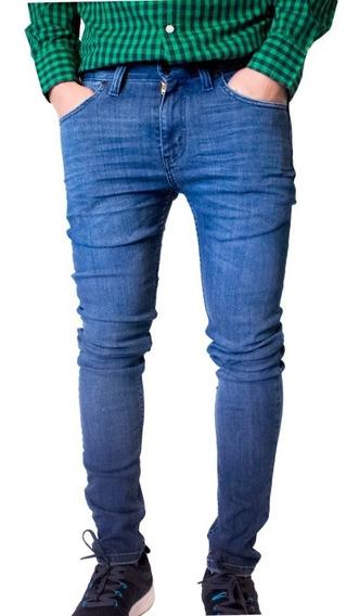Jeans Hombre 519tm Extreme Skinny Tiro Corto