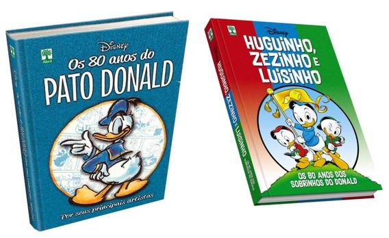 Hq 80 Anos Do Pato Donald & 80 Anos Dos Sobrinhos Quadrinhos