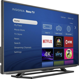 Insignia Tv 43 2160p - Smart - 4k Ultra Hd Led Tv - Roku