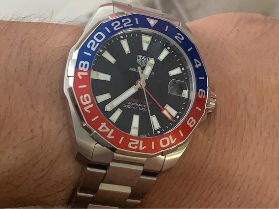 Relógio Teg Heuer Aquaracer 300m Calibre 7 Gmt