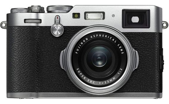 Camara Fujifilm X100f Plata 24.3 Mpx