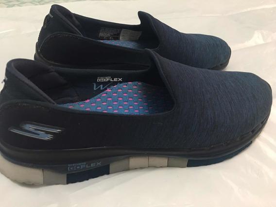 Zapatillas Skechers Go Flex Caminata Memory Foam Talle 39