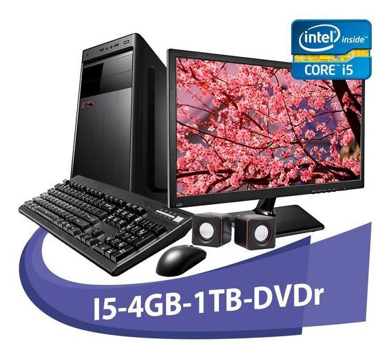 Computador I5 2400s 4gb Hd 1tb + Kit+dvd+monitor De 15