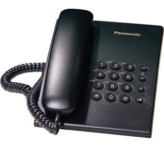 Teléfono Análogo Unilínea Alámbrico Panasonic Kx-ts500