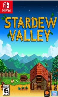 Stardew Valley Nintendo Switch Codigo De Descarga Digital!