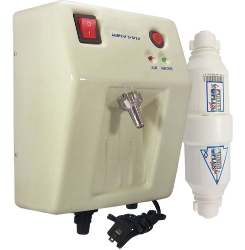 Planta Ozono Ambient Dual Fija Bg Filtro Agua Compacto Kit