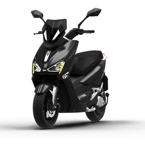 Imagem 1 de 10 de Scooter Moto Elétrica Voltz Ev1 Sport Preto Brilho 2baterias