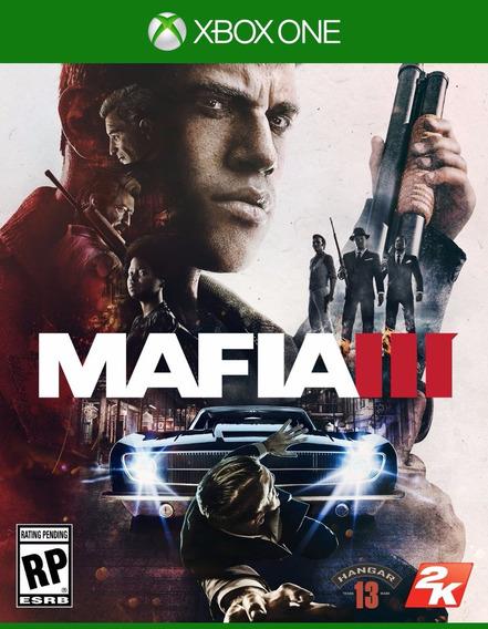 Jogo Lacrado Mídia Fisica Mafia 3 Original Xbox One