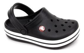 Chinelo Infantil Crocs Crocband Kids Preto Loja Pixolé