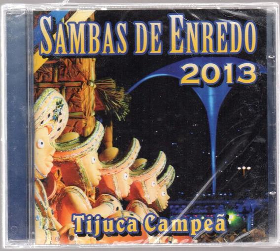 Cd Sambas Enredo 2013 Rio De Janeiro Lacrado Frete R$ 12,00