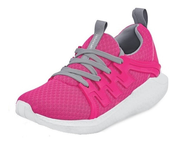 Tenis Sneakers Deportivo Dama Mujer Rosa Fucsia Runing Train