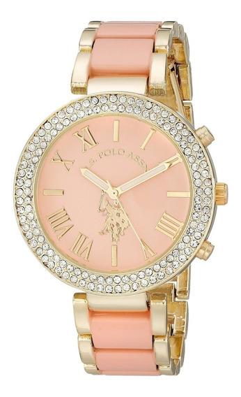 Reloj Rosa Mujer Us Polo Assn Usc40063 100% Original