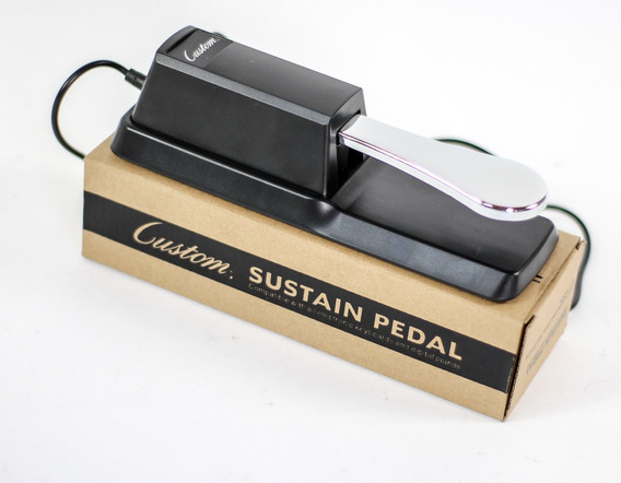 Pedal Sustain Custom P/ Korg Yamaha Roland Kurzweil Casio