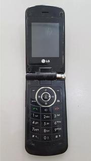 Celular LG Mg 810 Preto Para Retirar Peças Os 001