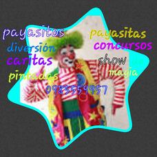 Fiesta Infantil Mago Payaso Inflable Baby Shower Hora Loca
