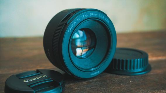 Lente Canon Ef 50mm F/1.8 Stm - A Vista 499