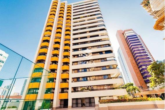 Apartamento Com 4 Quartos À Venda, 340 M², Financia, Área De Lazer - Aldeota - Fortaleza/ce - Ap1276