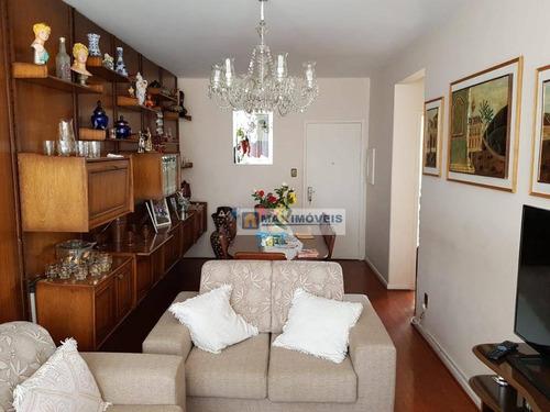 Apartamento Com 2 Dormitórios À Venda, 116 M² Por R$ 630.000 - Ap0033
