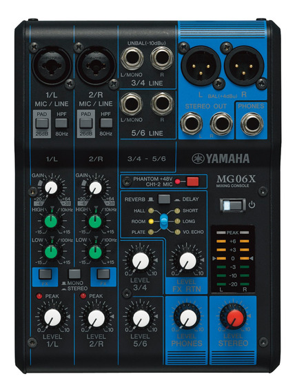 Consolas Analógicas Yamaha Mg06x