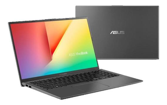 Notebook Asus 8ª Ger. Core I5 8265u, 8gb, 1tb,15 W10, Cinza