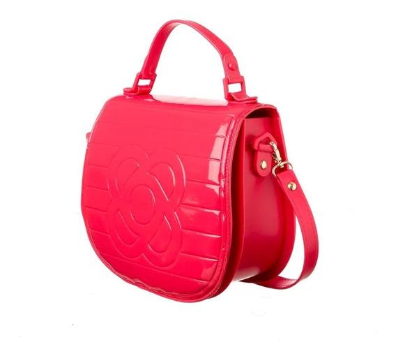 Bolsa Petite Jolie Feminina Saddle Bag Lançamento Verniz