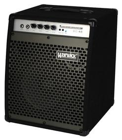 Cubo Amplificador Para Contrabaixo Warwick Bc40