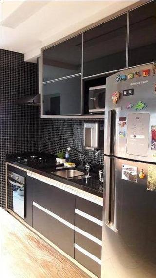 Apartamento Com 3 Dormitórios À Venda, 87 M² Por R$ 599.000 - Jardim Tupanci - Barueri/sp - Ap0897
