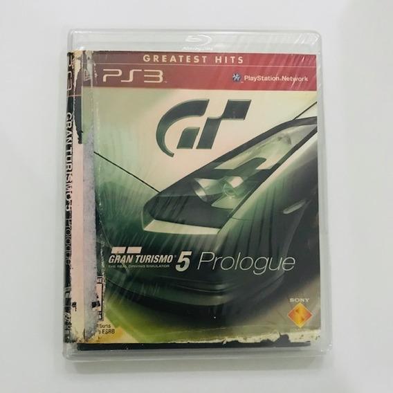 Gran Turismo 5 Prologue Mídia Física Ps3 - Capa Com Detalhes
