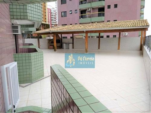 Imagem 1 de 11 de Apartamento Com 3 Dormitórios, 2 Suítes, 2 Vagas, À Venda, 140 M² Por R$ 600.000 - Canto Do Forte - Praia Grande/sp - R3f557a - Ap0135