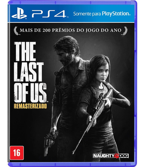 Jogo The Last Of Us Remastered Ps4 Mídia Física Dublado