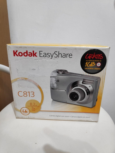 Câmera Digital Kodak Easyshare C813