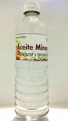 3 Botellas Aceite Mineral Para Masajes Mejora La Piel