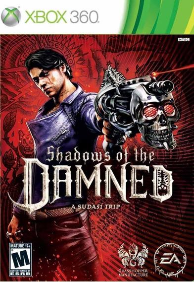 Jogo Shadows Of The Damned Xbox 360 X360 Original Mídia Físi