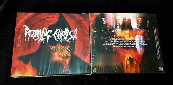 Cd Rotting Christ - Genesis - Slipcase - Lacrado