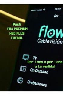 Cableflow Por 1 4ñ0 F0x Hb0 Futbol??