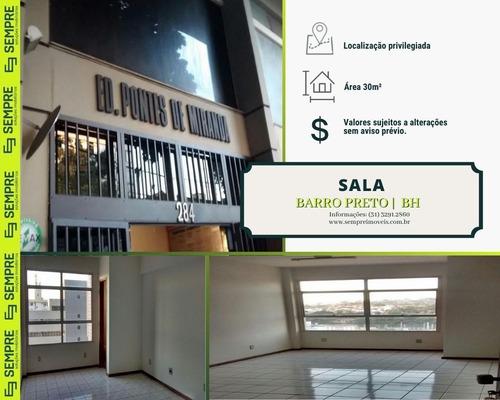 Imagem 1 de 15 de Sala Para Alugar, 30 M² - Barro Preto - Belo Horizonte/mg - Sa0009
