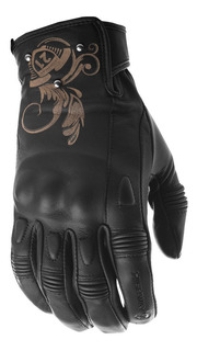 Guantes Moto Highway 21 Mujer Negro Ivy S Negro Md