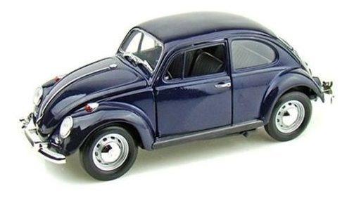 Miniatura Volkswagen Beetle Fusca 1967 1:18 Yat Ming 92078