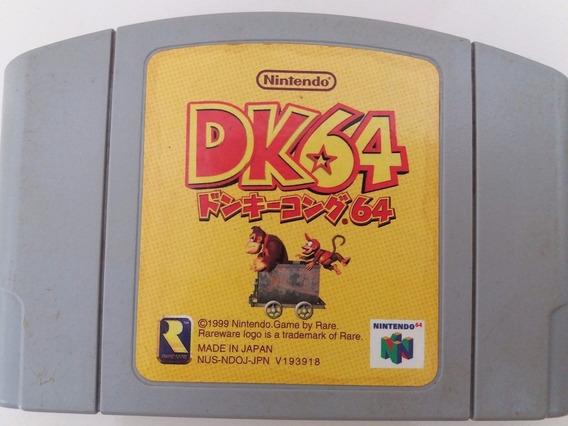 Cartucho Nintendo 64 Dk64 Donkey Kong Original Japonês