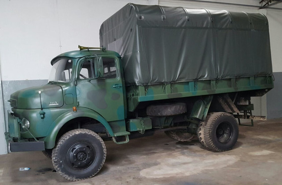 Caminhão Militar Mercedes Benz 1113