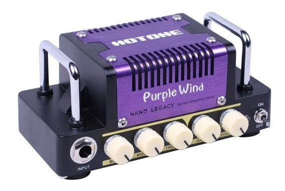 Cabeçote De Guitarra Hotone Purple Wind + Nf + Garantia