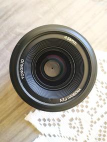 Lente 35mm Yongnuo F2.0 Foco Automatico Para Nikon