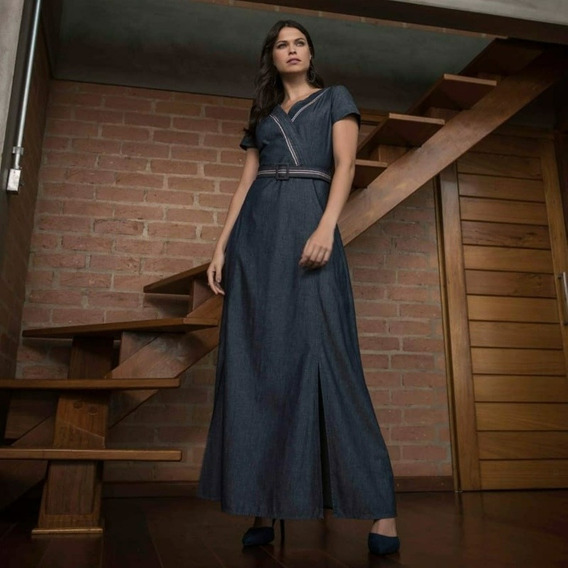 Vestido Jeans Via Tolentino11042