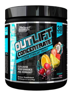 2x Outlift Concentrate (importado) 30 = 60 Doses - Nutrex