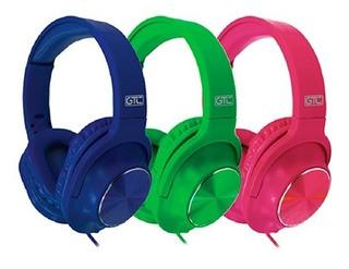 Auricular Vincha C/microfono Gtc Varios Colores Stereo Hi-fi