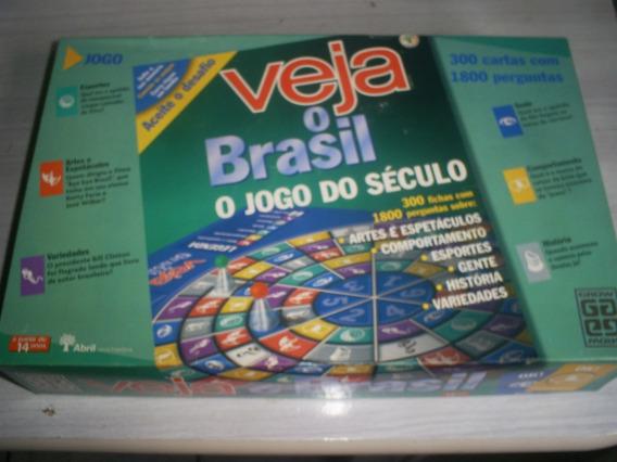 Jogo De Perguntas Veja O Brasil Completo E Conservado