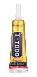 Pegamento T7000 Celulares Modulos Pantallas Tactiles 15ml Negro Servicio Tecnico