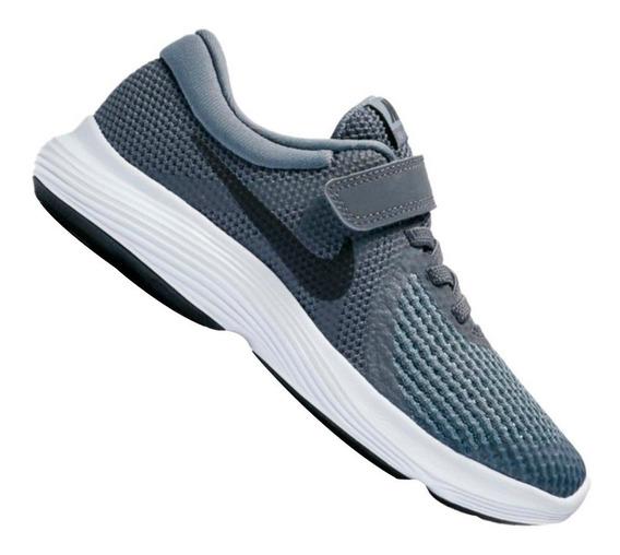 Tênis Nike Infantil Revolution 4 Psv Cinza 943305005