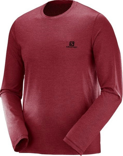 Remera Salomon - Cotton Ls Tee Ii M - Hombre - Casual