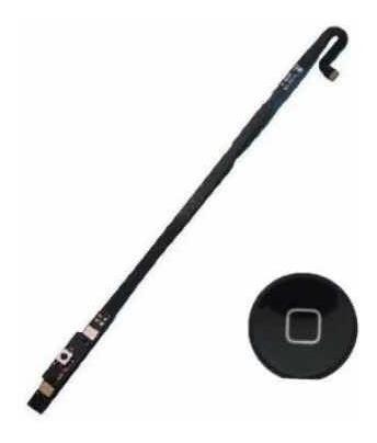 Cabo Flex Botão Home Preto Tablet Aplle iPad 4